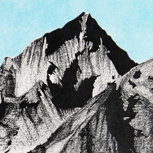 Disintegration of a mountain