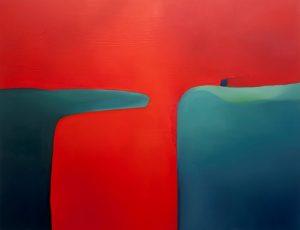 OK Katerina Sarra-Red_2017_Oil on canvas_165cm x 215cm